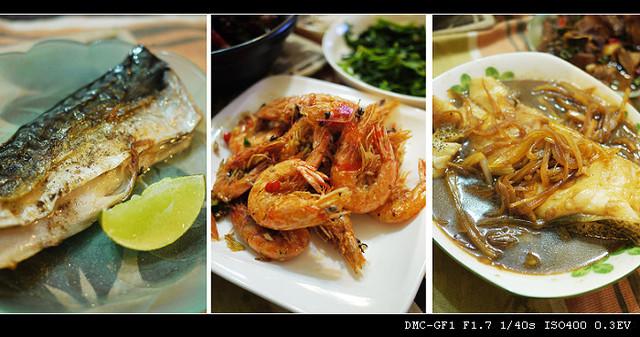 鹹酥蝦、煎鯖魚、和風燒鱈魚食譜