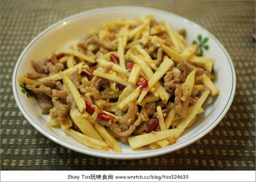 竹筍炒肉絲食譜